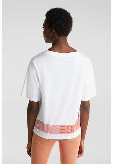 Esprit Тениска от органичен памук с 3/4 ръкави Жени