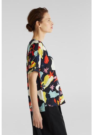 Esprit Bluza lejera cu model floral Femei