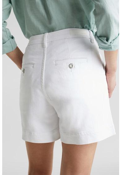 Esprit Pantaloni scurti chino cu talie inalta Femei