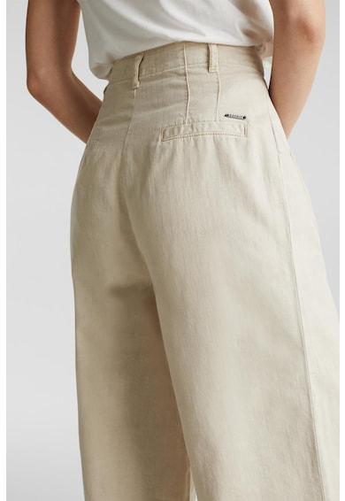 Esprit Панталон с лиосел и широк крачол Жени