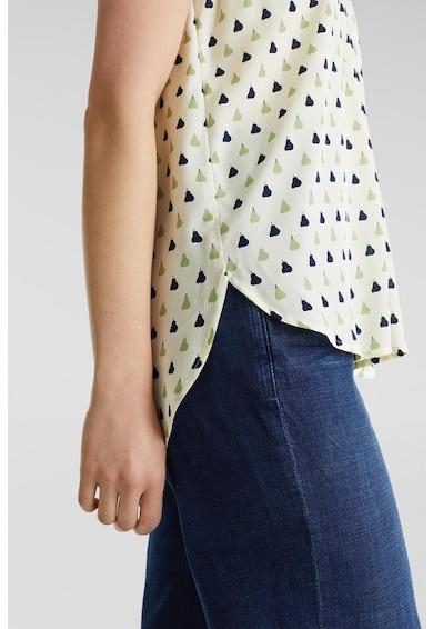 Esprit Bluza tip tunica fara maneci, cu model cu pere Femei