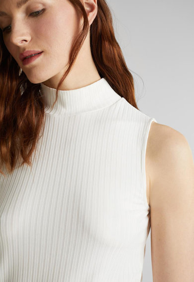 Esprit Bluza fara maneci, cu aspect striat Femei