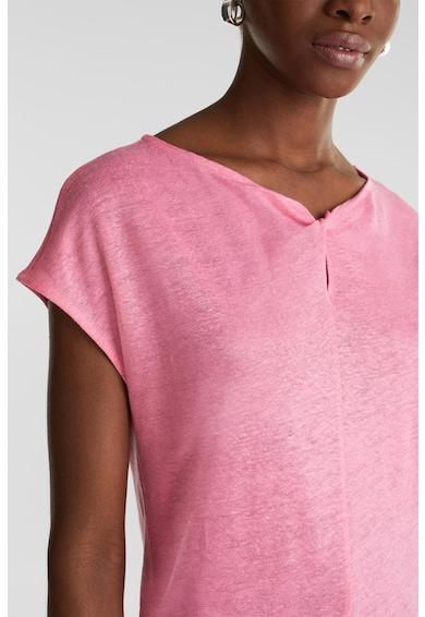Esprit Ленена блуза с отвор Жени