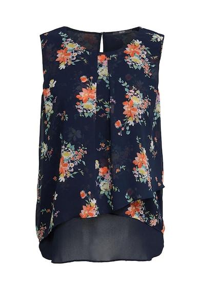Esprit Флорална блуза от шифон без ръкави Жени