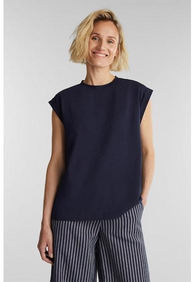 Esprit Тениска с навити ръкави Жени