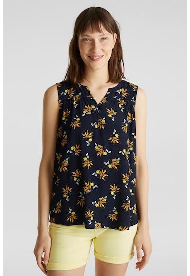 Esprit Флорална блуза без ръкави Жени
