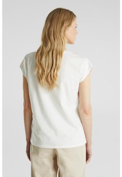 Esprit Bluza cu insertii de plasa Femei
