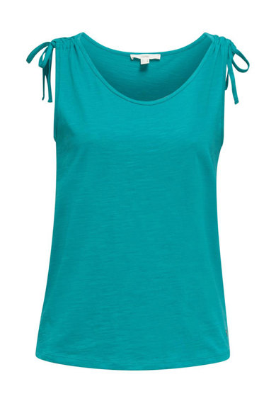 Esprit Bluza din bumbac organic, fara maneci Femei
