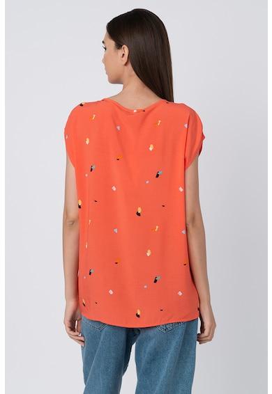 Esprit Bluza vaporoasa cu model abstract Femei