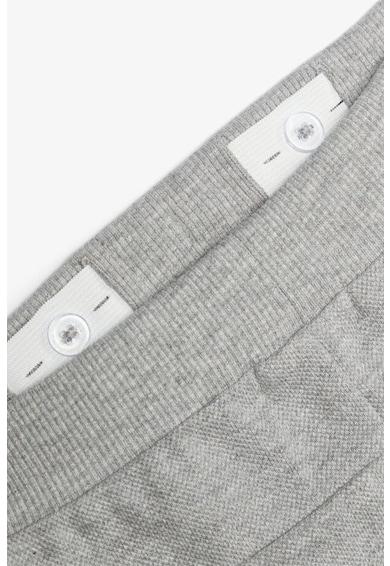 NAME IT Pantaloni scurti din bumbac organic, cu snur in talie Baieti