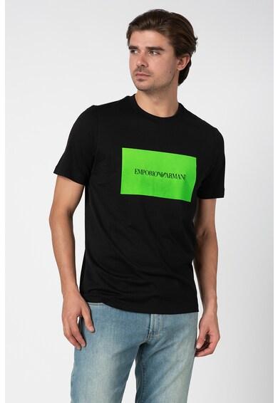 Emporio Armani Tricou cu aplicatie logo Barbati