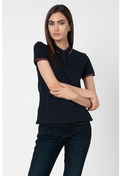 Emporio Armani Tricou polo cu detalii contrastante Femei