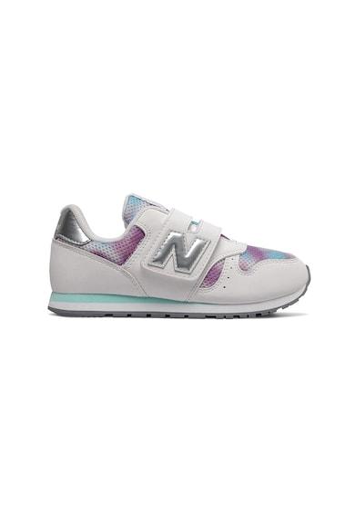 New Balance Pantofi sport de material textil si piele ecologica 373 Fete