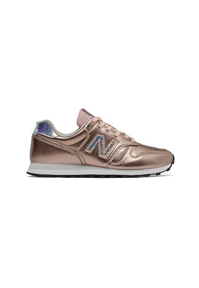 New Balance Pantofi sport de piele cu insertii de plasa 373 Femei