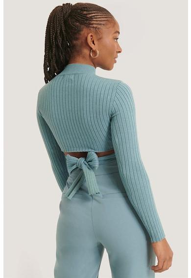 NA-KD Bluza cu maneci lungi si prindere pe partea din spate Femei