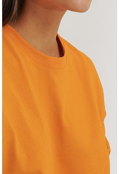 NA-KD Bluza sport crop cu maneci cazute Femei