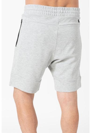 Tom Tailor Pantaloni scurti din amestec de bumbac, cu snur in talie Barbati