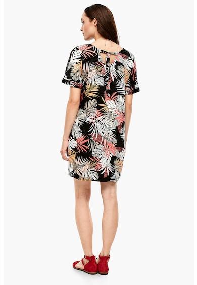 s.Oliver Rochie cu model tropical si perforatii Femei
