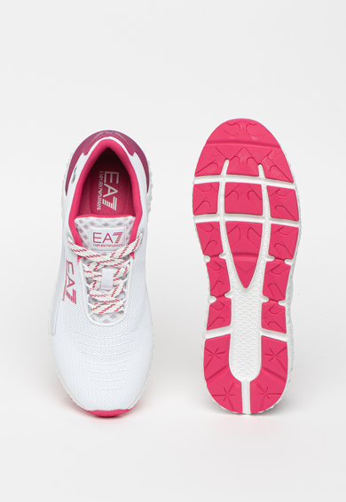 EA7 Pantofi sport din plasa cu logo Femei