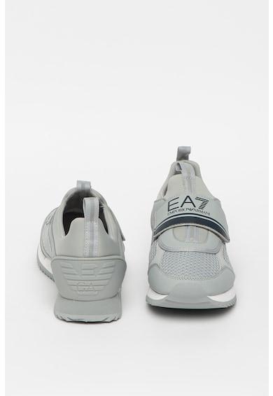 EA7 Pantofi sport slip-on unisex cu garnituri din plasa Femei