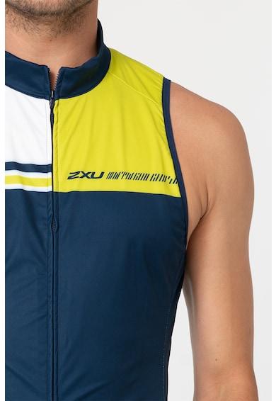 2XU Cipzáros trikó kerékpározáshoz férfi