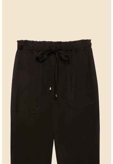 Oltre Pantaloni crop conici cu talie elastica Femei
