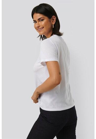 NA-KD Tricou cu imprimeu de bumbac Femei
