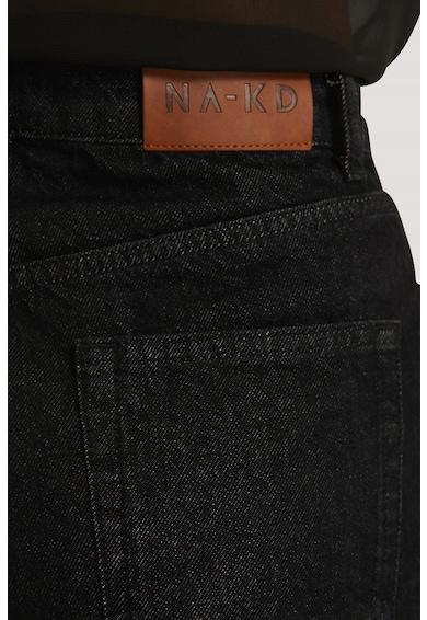 NA-KD Pantaloni scurti din denim cu terminatie pliabila Femei