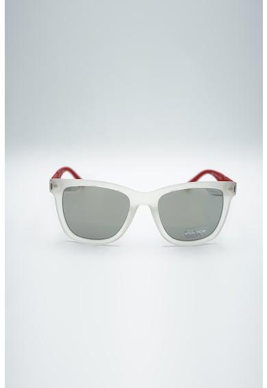 Police Ochelari de soare dreptunghiulari cu lentile oglinda Femei