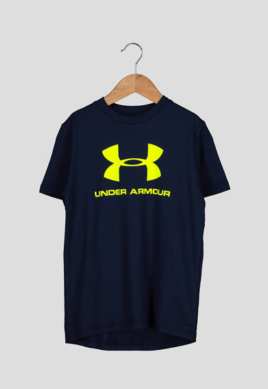 Under Armour Tricou cu imprimeu logo Sportstyle Baieti