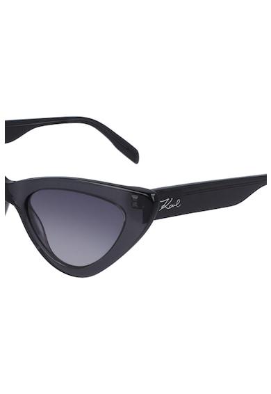 Karl Lagerfeld Ochelari de soare cat-eye cu lentile in degrade Femei