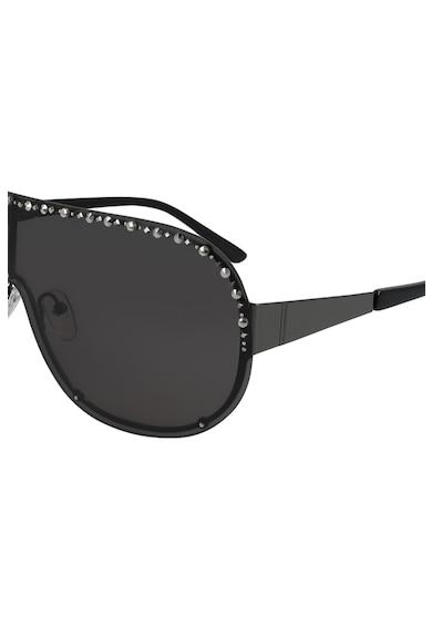 Karl Lagerfeld Ochelari de soare shield cu strasuri Femei