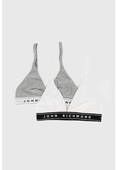 John Richmond Underwear Állítható pántú sportmelltartó szett - 2 db női