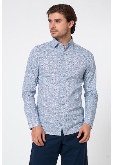 Gant Szűk szabású absztrakt mintás ing férfi