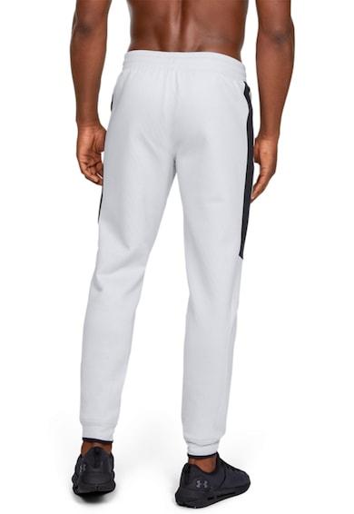 Under Armour Pantaloni cu benzi laterale contrastante, pentru antrenament Athlete Recovery Barbati