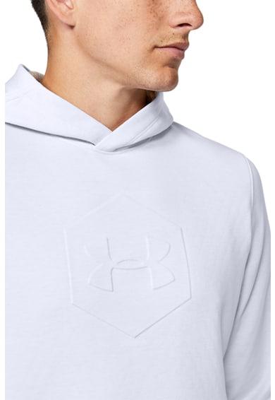 Under Armour Hanorac cu logo in relief, pentru antrenament Recover™ T Barbati