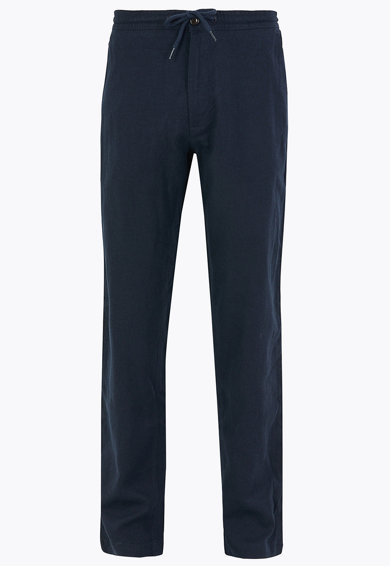 Marks & Spencer Pantaloni regular fit cu snur in talie Barbati