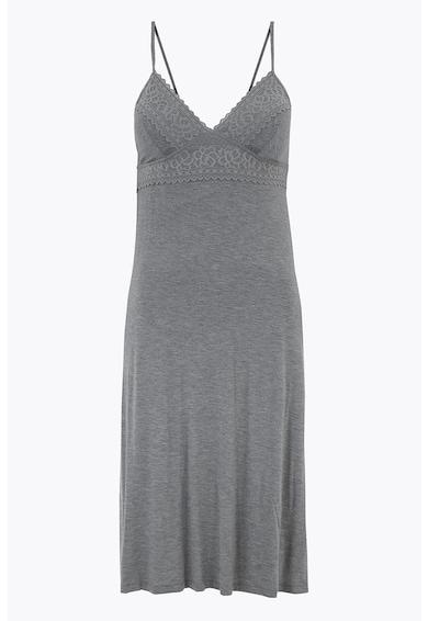 Marks & Spencer Camasa de noapte cu decolteu in V si insertii de dantela Femei