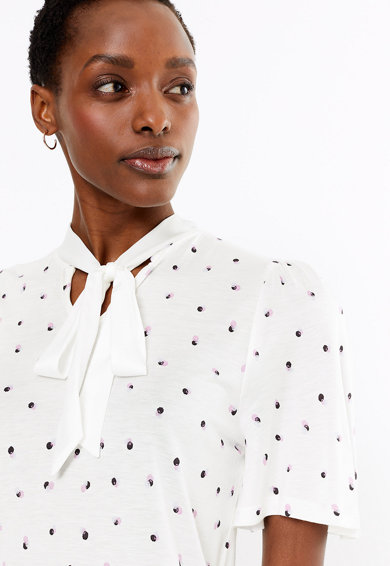 Marks & Spencer Bluza cu model abstract Femei