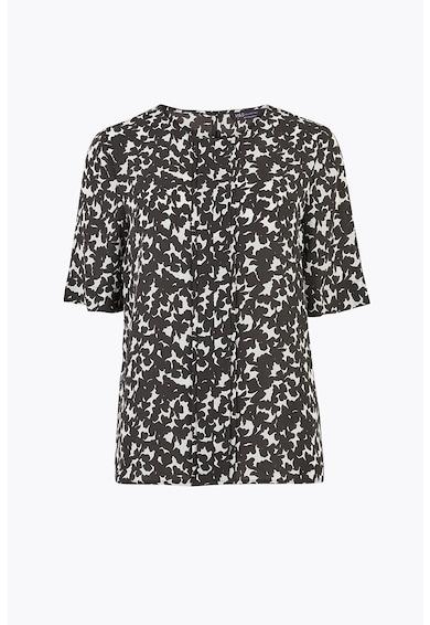 Marks & Spencer Bluza cu maneca scurta si model abstract Femei