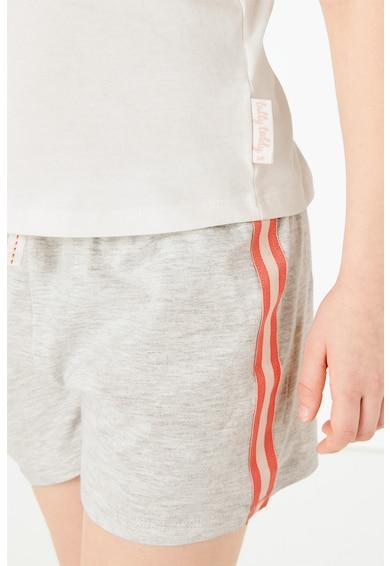 Marks & Spencer Pijama fara maneci cu imprimeu Fete