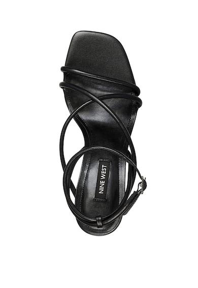 NINE WEST Sandale de piele ecologica, cu barete incrucisate Nolan Femei