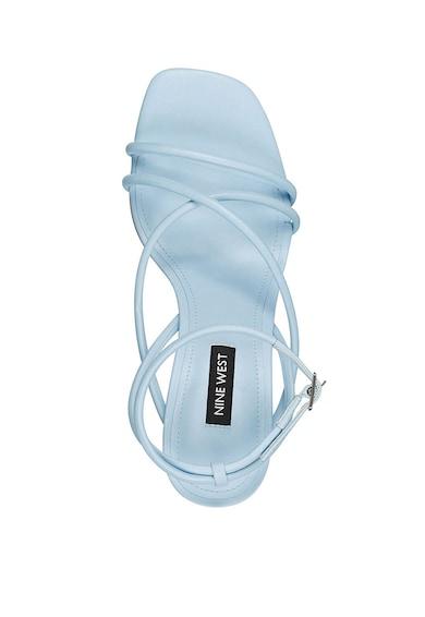 NINE WEST Sandale de piele ecologica, cu barete multiple Nolan Femei
