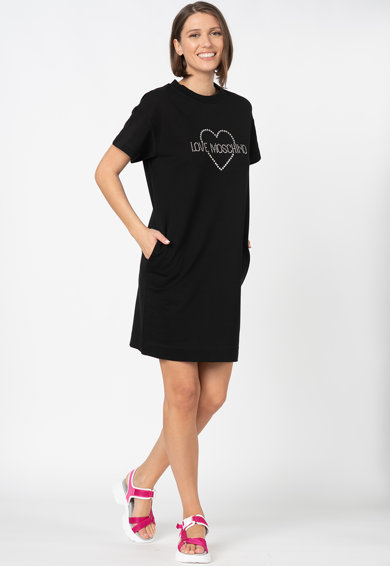 Love Moschino Pólóruha logóval női