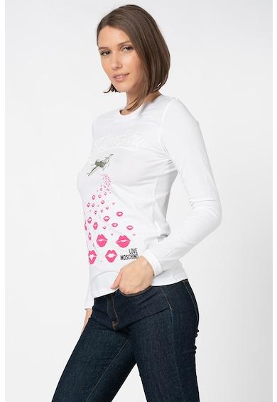 Love Moschino Bluza cu imprimeu grafic Femei