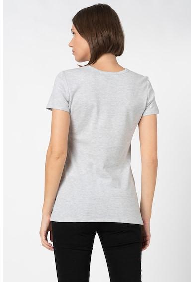 Love Moschino Tricou cu imprimeu logo colorblock Femei