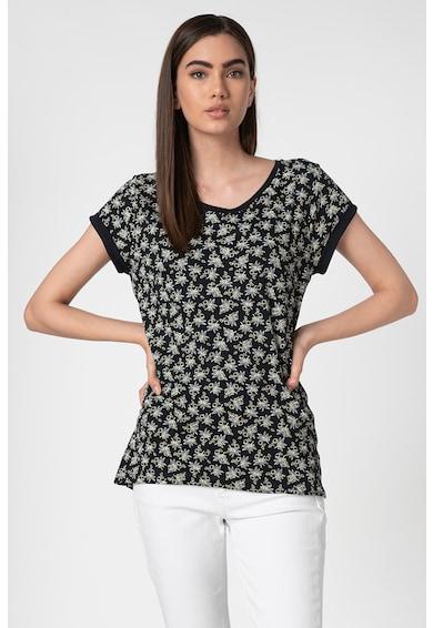 Esprit Virágmintás organikuspamut póló női