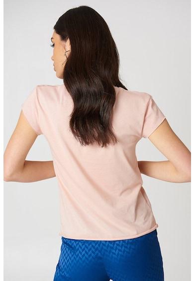 NA-KD Kerek nyakú pamutpóló női