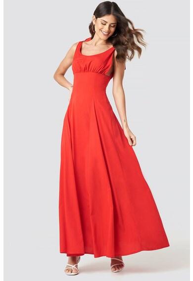 NA-KD Ujjatlan bővülő fazonú ruha női