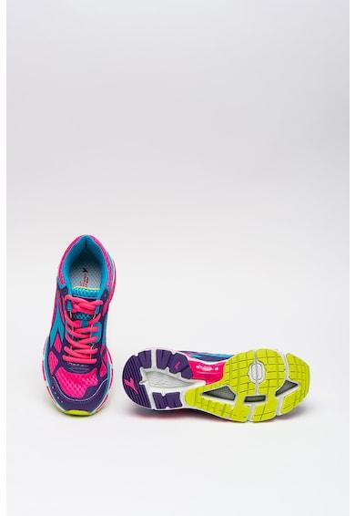 Diadora Hálós anyagú colorblock dizájnú futócipő női